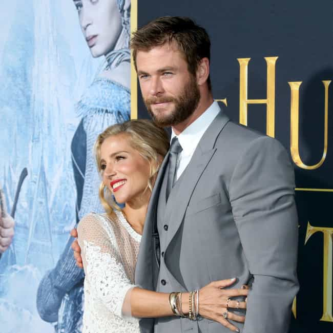 Chris Hemsworth is listed (or ranked) 3 on the list These Celebs Found Love On A Blind Date