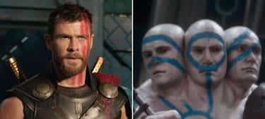 Chris Hemsworth: Thor And One Of Hajo's Heads