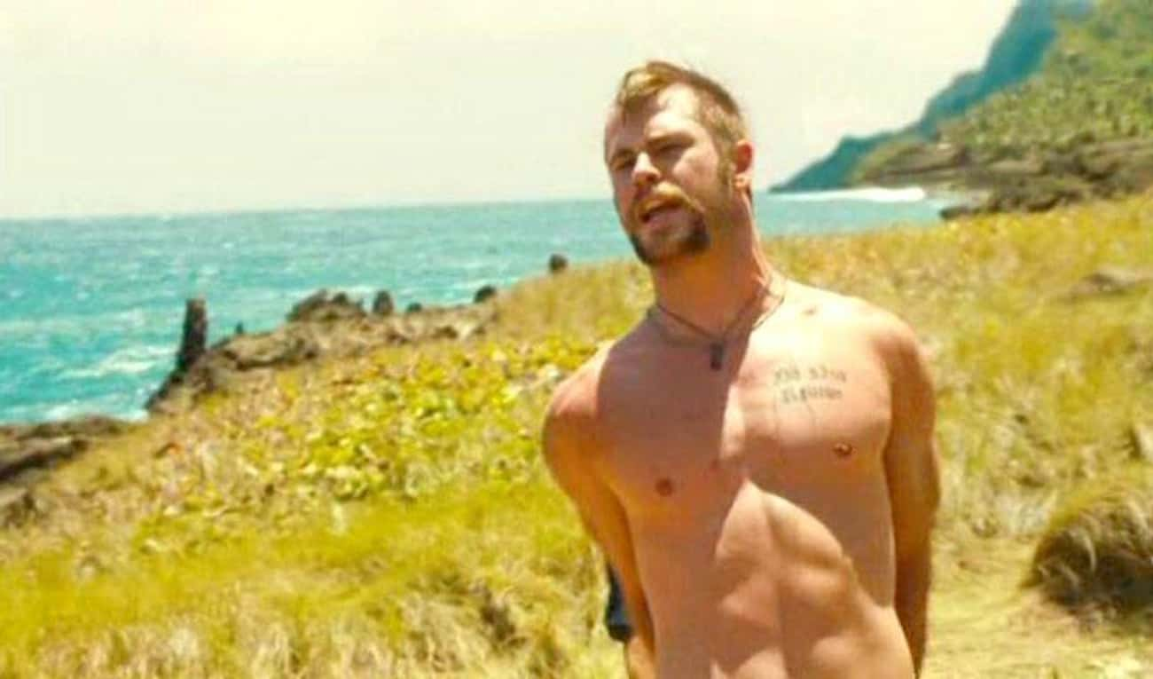 Chris Hemsworth is listed (or ranked) 4 on the list The Male Celebrities With The Best Abs