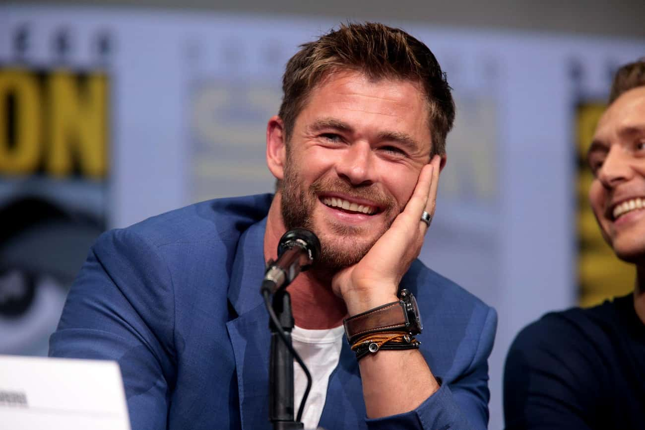 Chris Hemsworth is listed (or ranked) 2 on the list The Best Celebrity Smiles (Men)