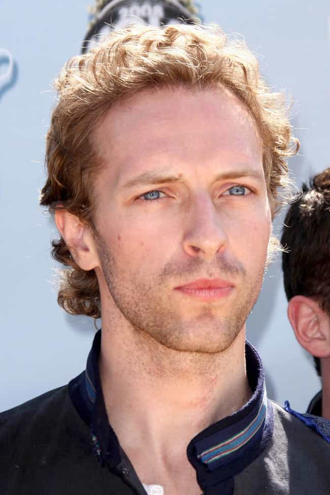Chris Martin is listed (or ranked) 3 on the list Famous People Born in 1977