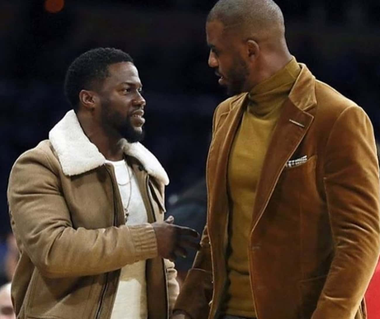 Chris Paul is listed (or ranked) 4 on the list 20+ Famous Friends Of Kevin Hart