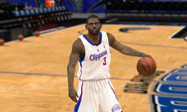 Chris Paul is listed (or ranked) 4 on the list The Top NBA 2K13 Players