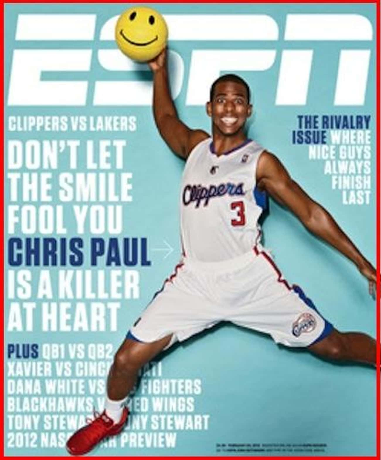 Chris Paul is listed (or ranked) 2 on the list The Best ESPN Magazine Covers