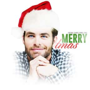 Chris Pine is listed (or ranked) 19 on the list Male Celebrities You'd Want Under Your Christmas Tree