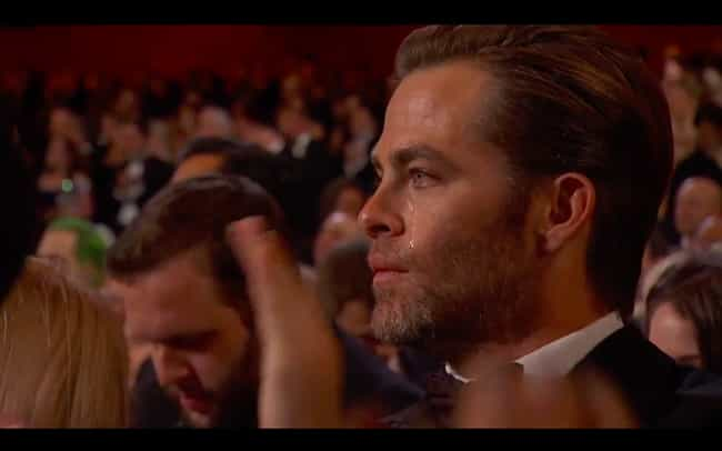 Chris Pine is listed (or ranked) 4 on the list The Nuttiest Accessories Stars Ever Rocked During the Oscars