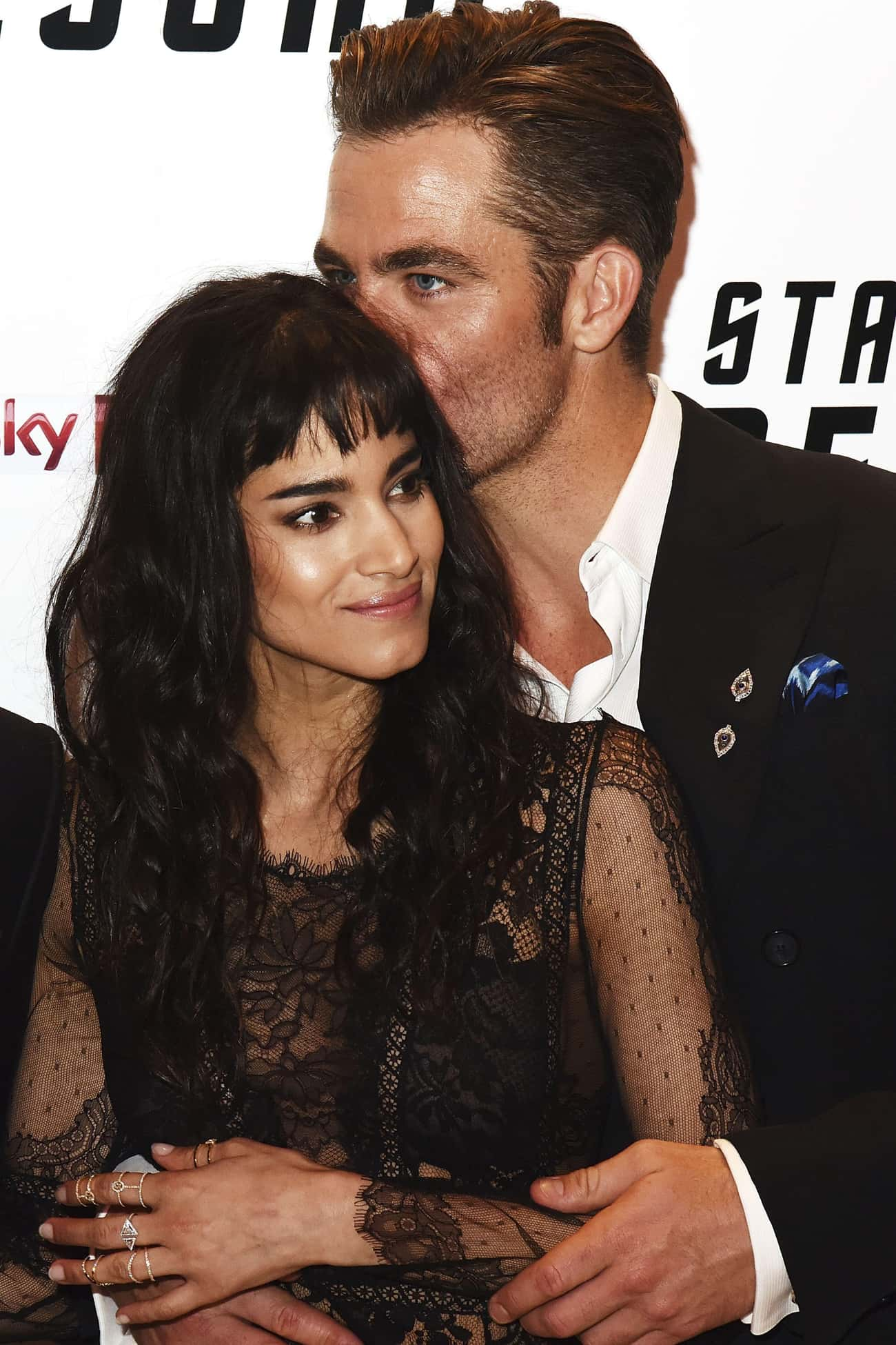 Chris Pine is listed (or ranked) 1 on the list Sofia Boutella Loves and Hookups