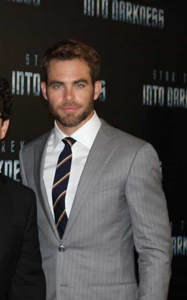 Chris Pine is listed (or ranked) 1 on the list The Hottest Actors in 2013 Movies
