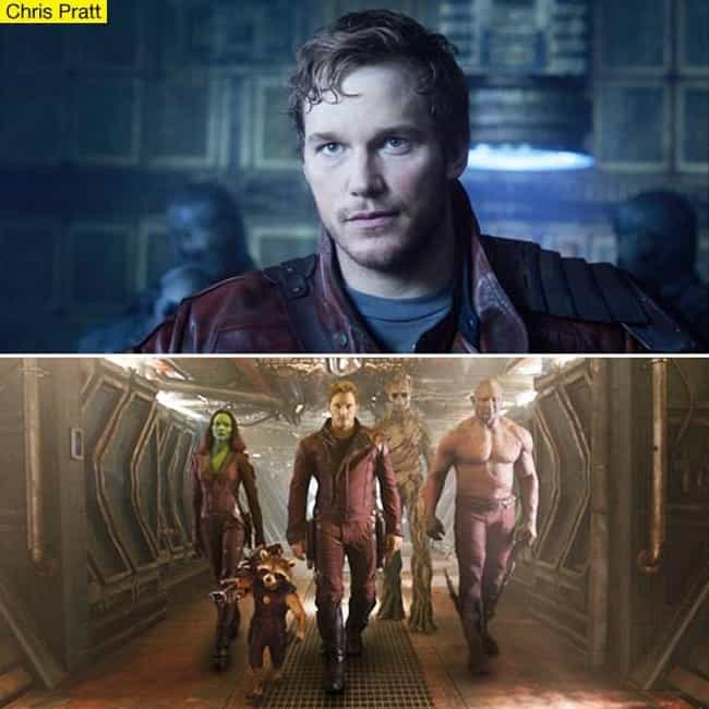 Chris Pratt is listed (or ranked) 6 on the list The Best Marvel Superhero Movie Actors