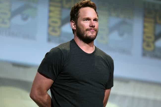 Chris Pratt is listed (or ranked) 2 on the list The Hottest Celebrity Lumbersexuals