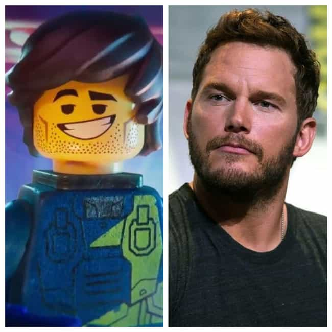 Chris Pratt is listed (or ranked) 1 on the list Here's Where You've Heard Or Seen Everyone In 'The Lego Movie 2' Before