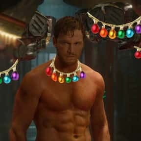 Chris Pratt is listed (or ranked) 4 on the list Male Celebrities You'd Want Under Your Christmas Tree