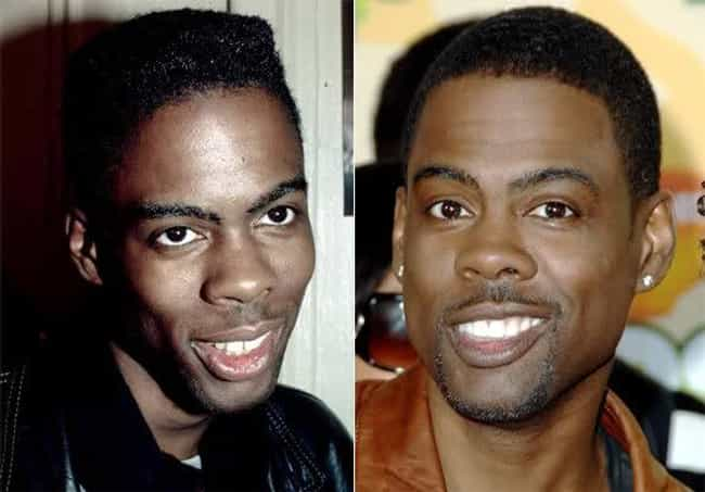 Chris Rock is listed (or ranked) 6 on the list Celebrities With Fake Teeth