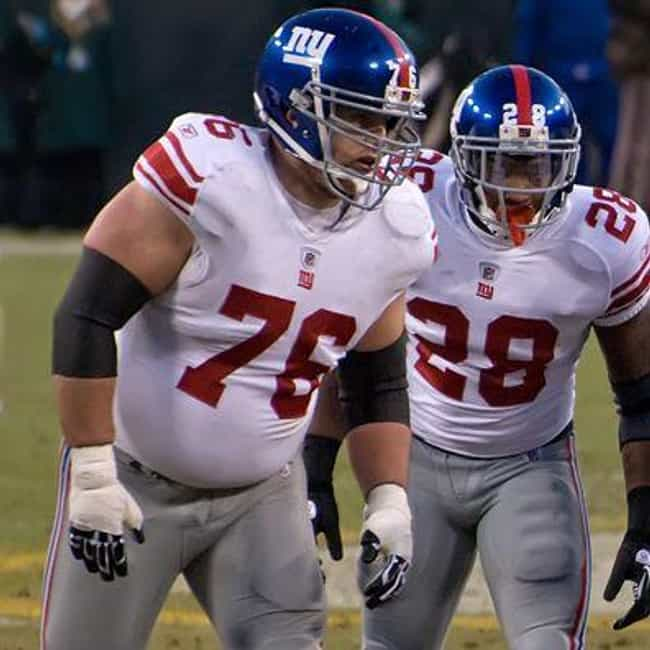 Chris Snee is listed (or ranked) 2 on the list The Best Athletes Who Wore #76