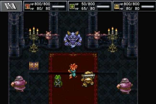 Chrono Trigger is listed (or ranked) 2 on the list 14 Video Games That Totally Deserve A Rerelease Or Remake