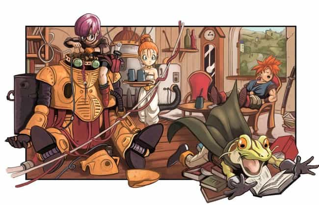 Chrono Trigger is listed (or ranked) 4 on the list 11 Video Games That Should Get Anime Adaptations