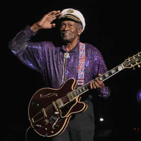 Chuck Berry is listed (or ranked) 24 on the list The Best Rock Bands of All Time