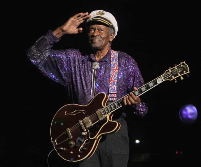Chuck Berry is listed (or ranked) 1 on the list Famous Guitarists from St. Louis