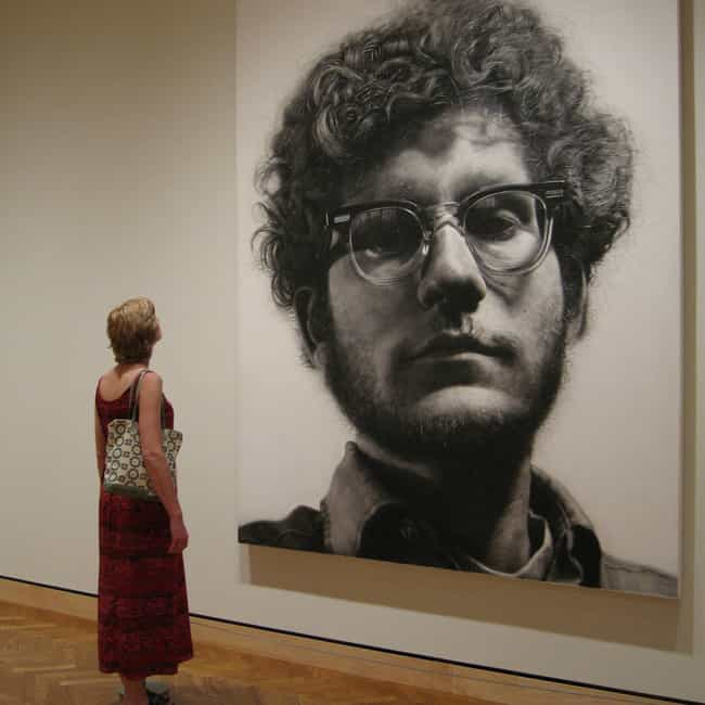 Chuck Close is listed (or ranked) 8 on the list 17 Famous Quadriplegics