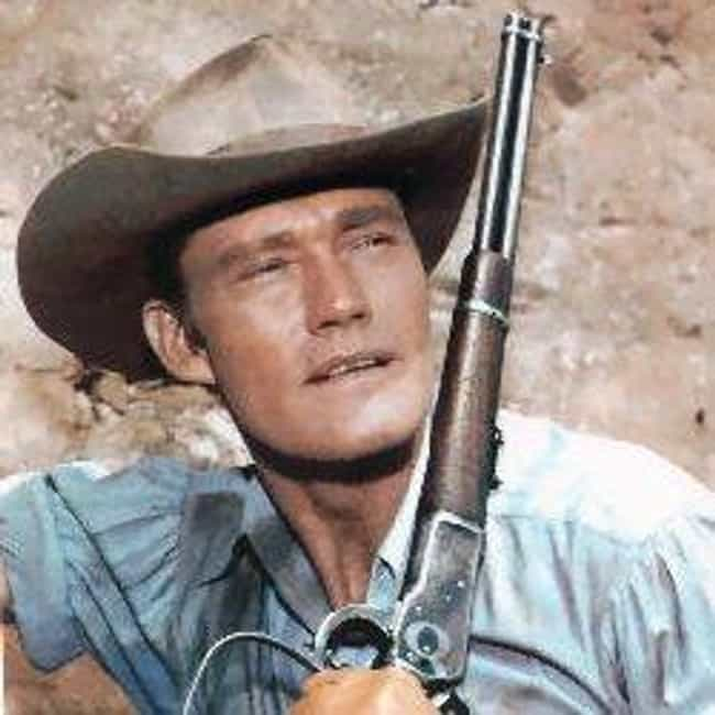 Chuck Connors is listed (or ranked) 2 on the list The Rifleman Cast List