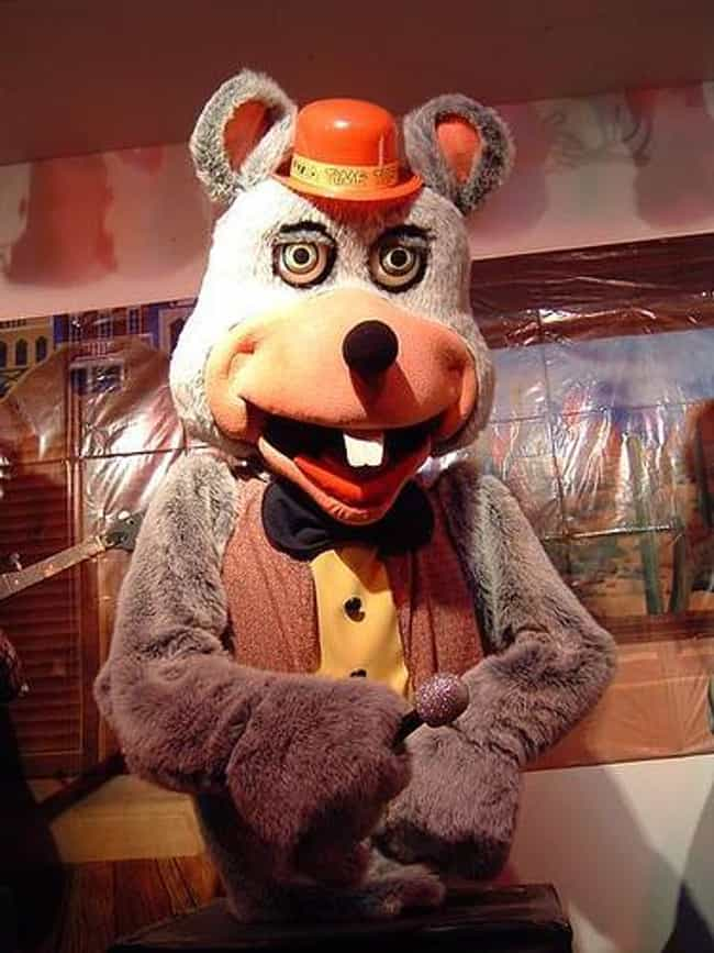 Chuck E. Cheese's is listed (or ranked) 1 on the list The Creepiest Company Mascots