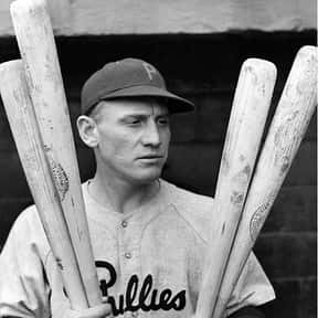 Chuck Klein is listed (or ranked) 25 on the list The Best Hitters in Baseball History