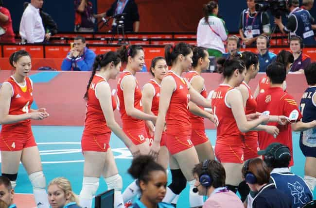 Chu Jinling is listed (or ranked) 1 on the list Famous Volleyball Players from China