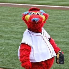 Gapper is listed (or ranked) 19 on the list The Best Mascots in Major League Baseball