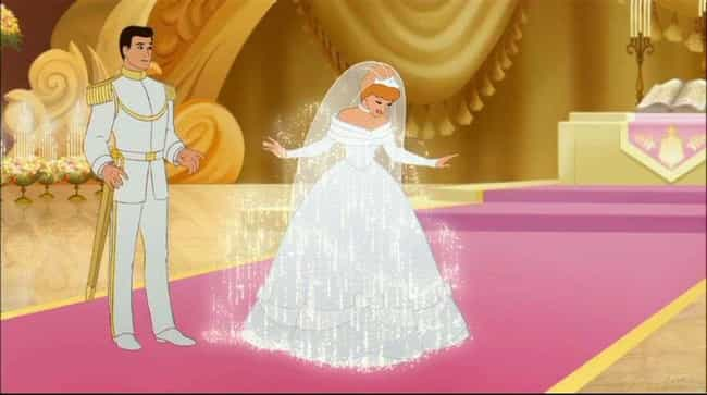 Cinderella is listed (or ranked) 2 on the list The Most Gorgeous Movie Wedding Dresses, Ranked