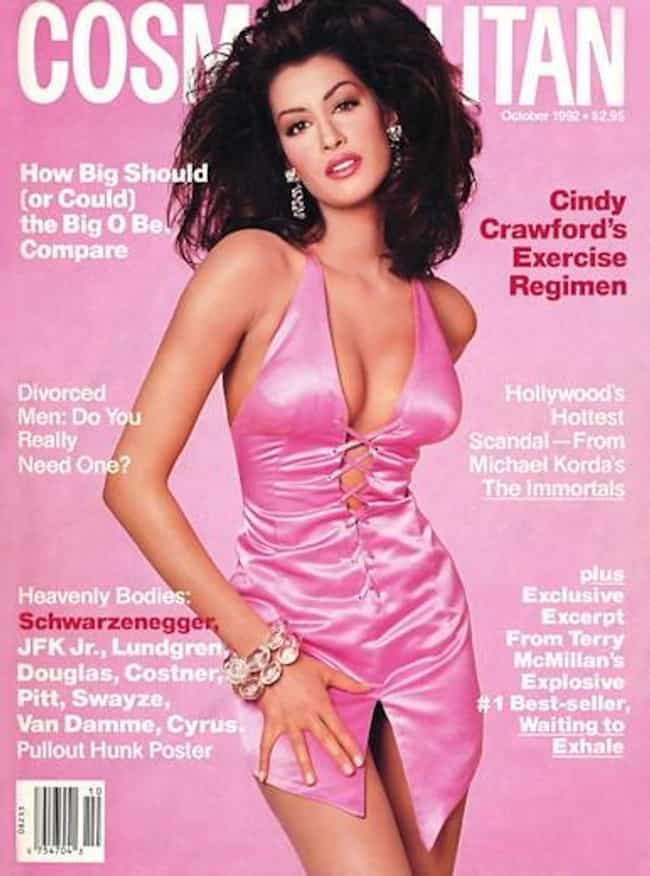 Cindy Crawford is listed (or ranked) 4 on the list The Best Cosmopolitan Covers