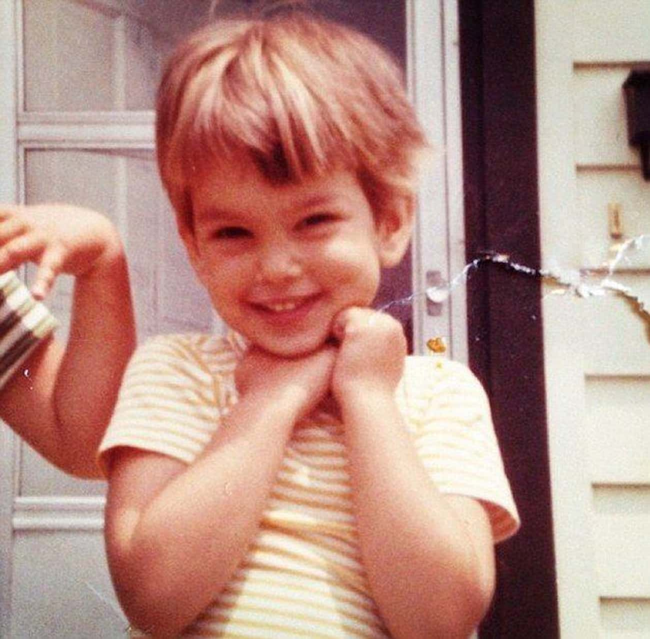 Little Cindy Crawford Rocks Th is listed (or ranked) 4 on the list 24 Adorable Old Photos of Celebrities Their Moms Would Probably Love to Show You
