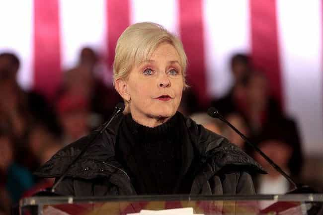 Cindy McCain is listed (or ranked) 4 on the list Celebrities Addicted To Oxycontin