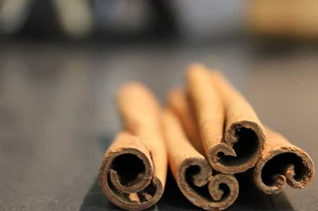 Cinnamon is listed (or ranked) 4 on the list 15 Aphrodisiacs And What They Actually Do To Your Body