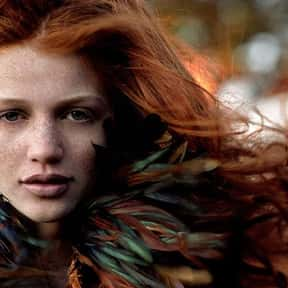 Cintia Dicker is listed (or ranked) 13 on the list The Most Attractive Redheads Ever