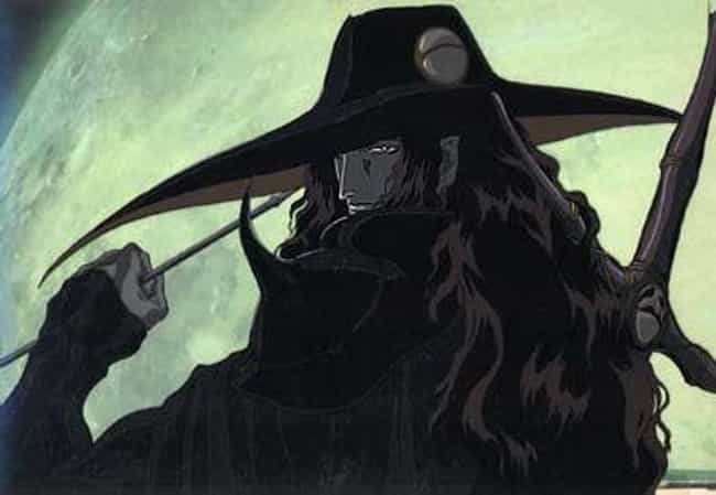 D is listed (or ranked) 2 on the list The 17 Most Vicious Vampires in Anime