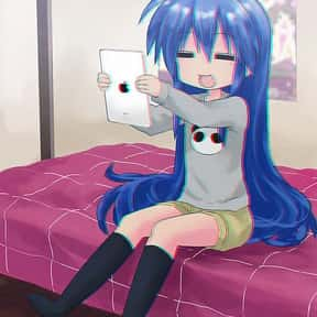 Konata Izumi is listed (or ranked) 24 on the list The Best Anime Characters With Blue Hair