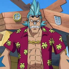 Franky is listed (or ranked) 6 on the list The Best Cyborg Anime Characters