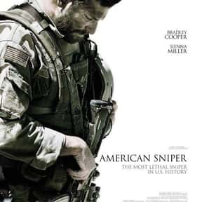 American Sniper is listed (or ranked) 1 on the list Great Movies So Patriotic, They Are Basically American Propaganda