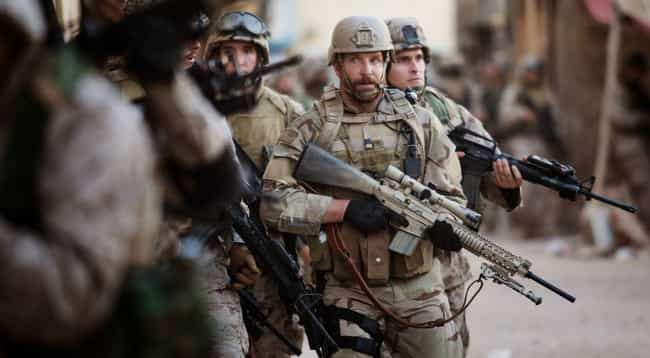 American Sniper is listed (or ranked) 1 on the list 'True Story' Movies Based On Highly Questionable Sources