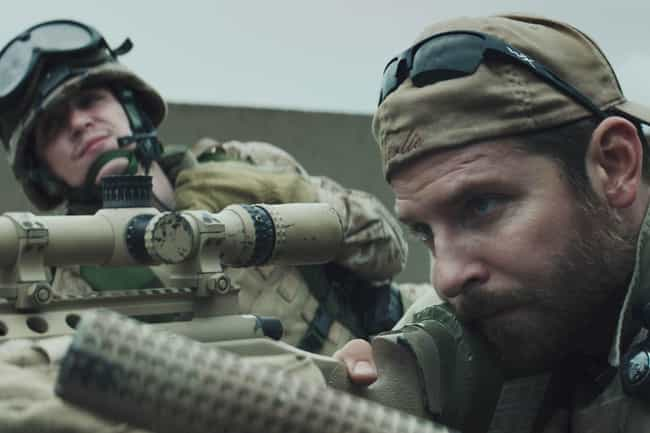 American Sniper is listed (or ranked) 3 on the list The Biggest Blockbusters Of The Decade That Weren't Franchises Or Sequels, Ranked