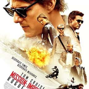 Mission: Impossible - Rogue Na is listed (or ranked) 16 on the list The Best Spy Movies