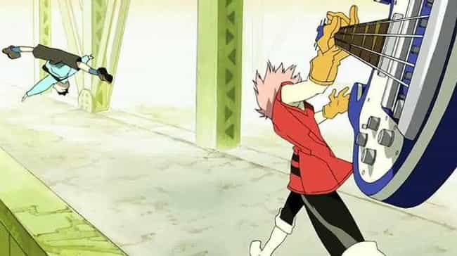 Haruko Haruhara is listed (or ranked) 4 on the list The 16 Coolest Unconventional Anime Weapons