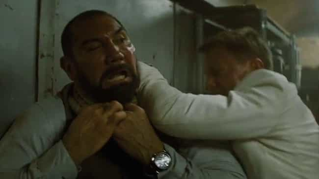 Spectre is listed (or ranked) 3 on the list The 15 Best Dave Bautista Performances Of All Time