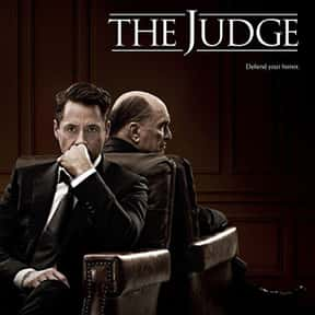 The Judge is listed (or ranked) 14 on the list The Best Robert Downey Jr. Movies