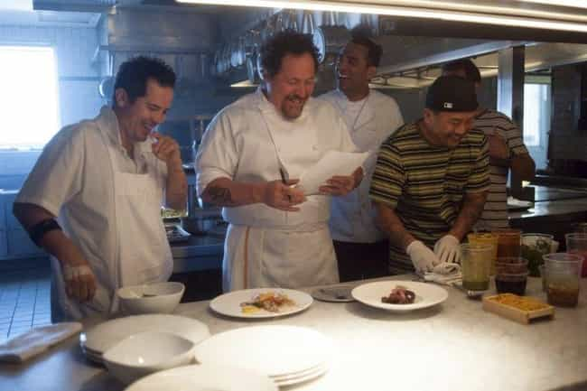 Chef is listed (or ranked) 4 on the list The Best Cinematic Chefs Of All Time