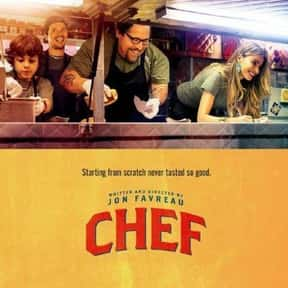 Chef is listed (or ranked) 2 on the list The Best Movies About Cooking