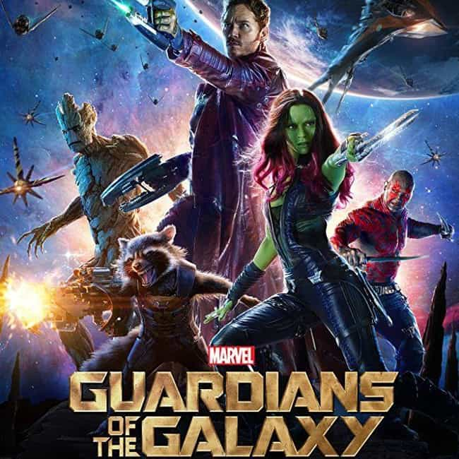 Guardians of the Galaxy is listed (or ranked) 3 on the list The Best Movies In The Marvel Cinematic Universe, Ranked