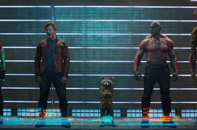 Guardians of the Galaxy ... is listed (or ranked) 1 on the list 13 Shows And Movies Joss Whedon Has Savagely Ripped Apart