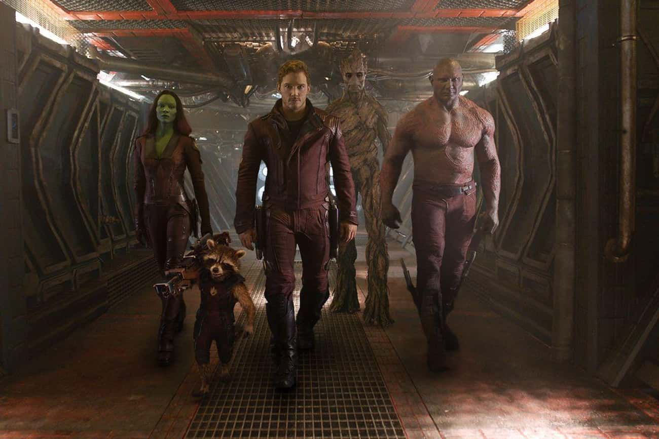 Chris Pratt Said Of'Guardians of the Galaxy':'You Don't Make A Movie With A Talking Tree'