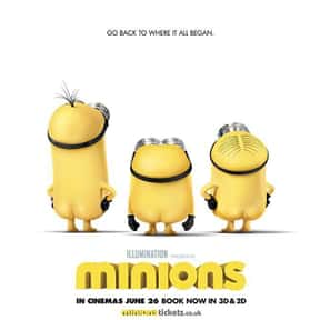 Minions is listed (or ranked) 8 on the list The Best Movies For Kids